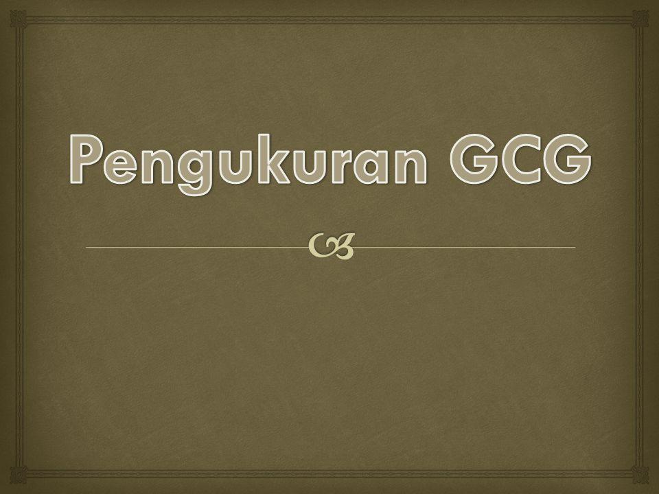 Pengukuran GCG