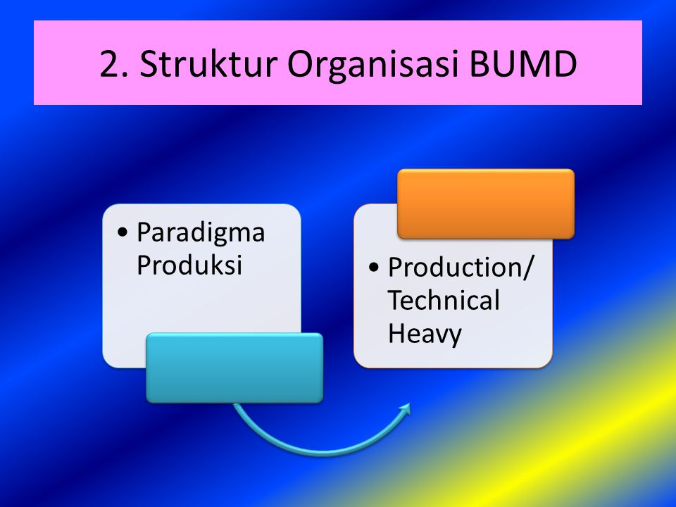 2. Struktur Organisasi BUMD