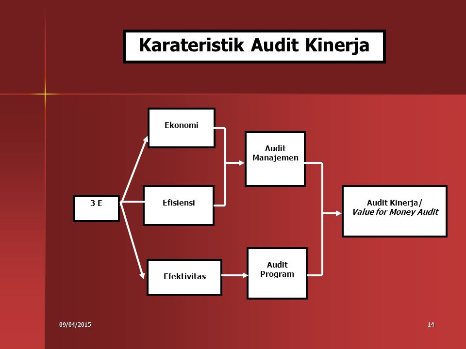 Karateristik Audit Kinerja