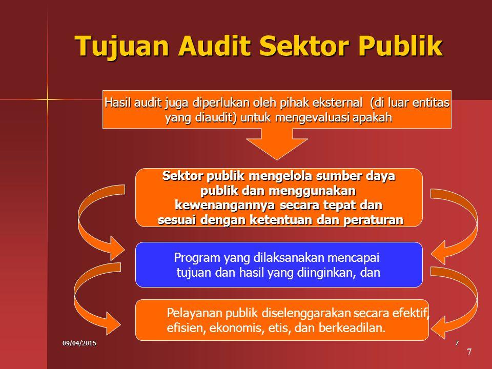 Tujuan Audit Sektor Publik