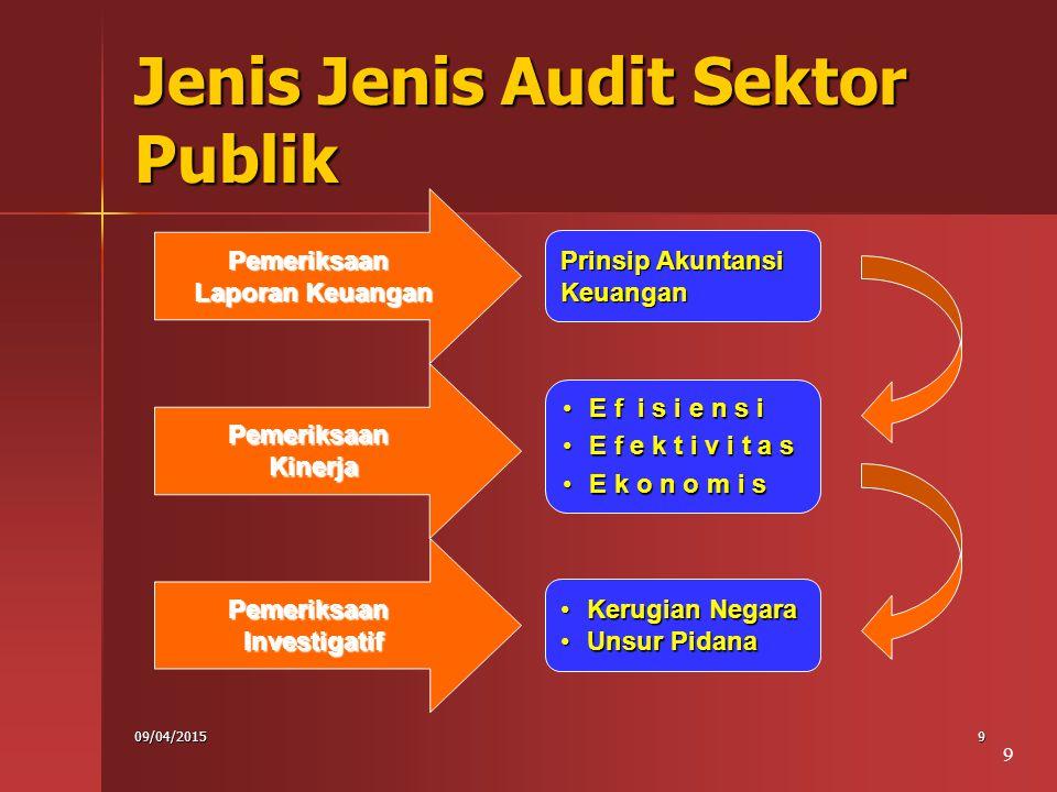 Jenis Jenis Audit Sektor Publik