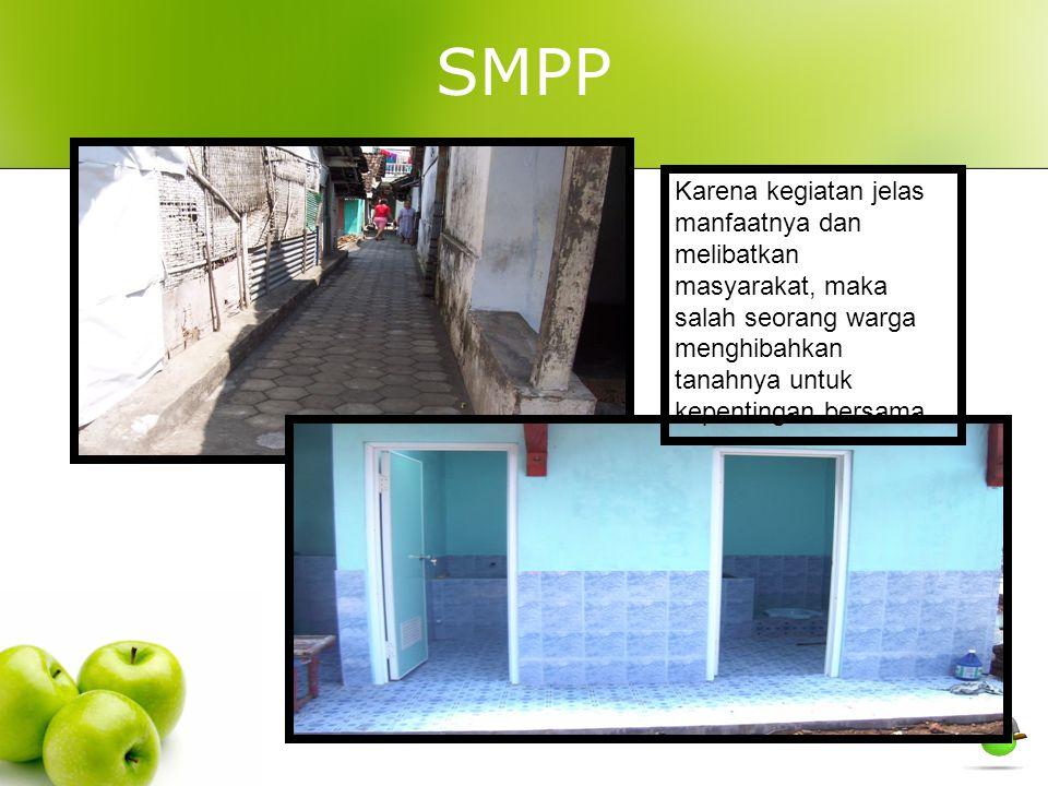 SMPP Karena kegiatan jelas manfaatnya dan melibatkan masyarakat, maka salah seorang warga menghibahkan tanahnya untuk kepentingan bersama.