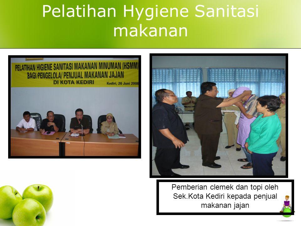 Pelatihan Hygiene Sanitasi makanan