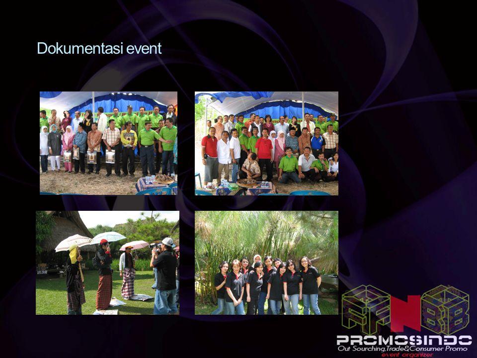 Dokumentasi event