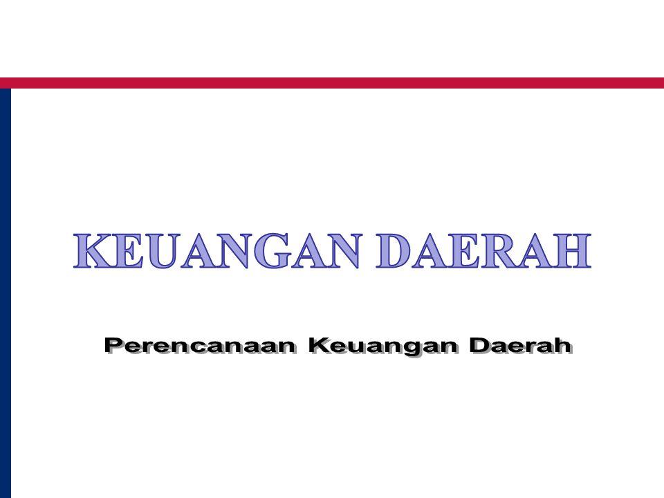 Perencanaan Keuangan Daerah