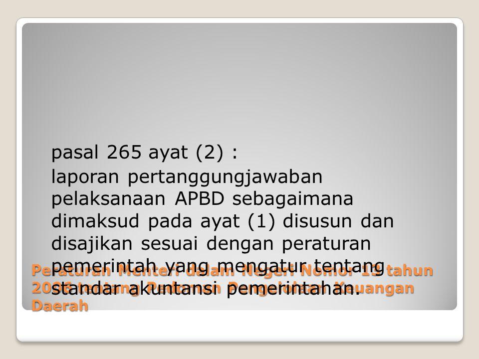 pasal 265 ayat (2) :