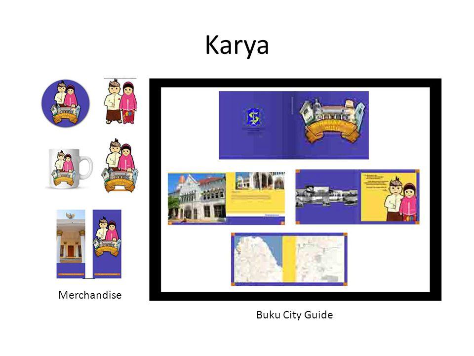 Karya Merchandise Buku City Guide