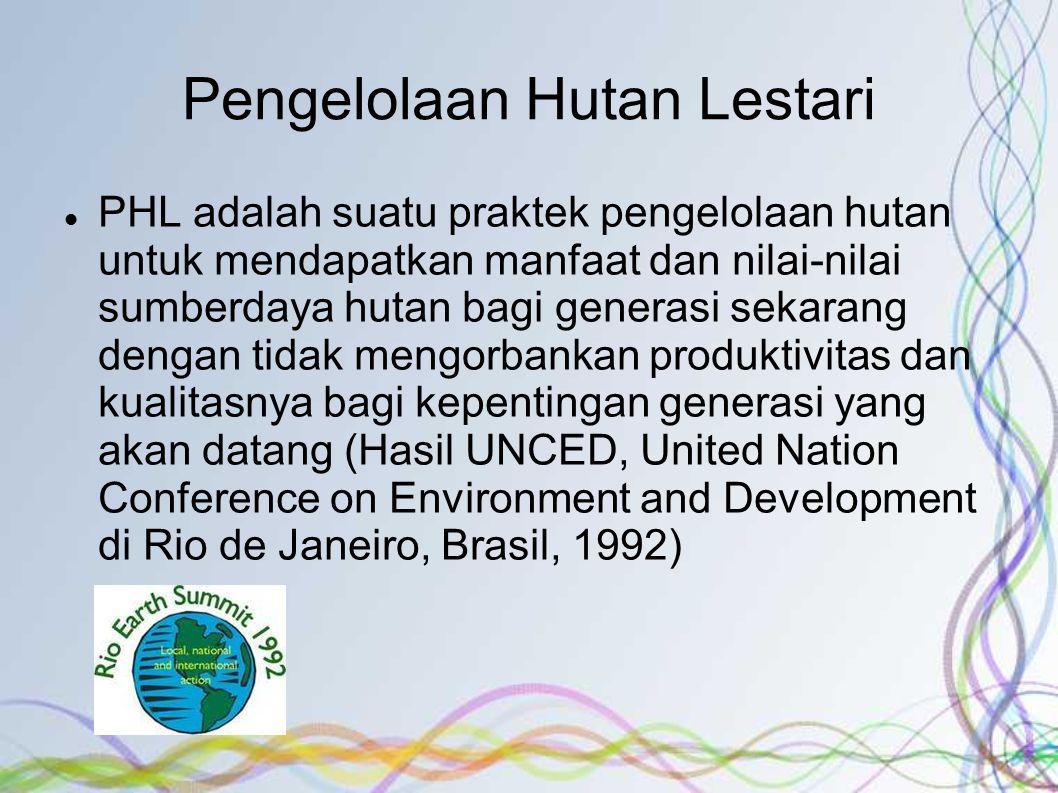 Pengelolaan Hutan Lestari