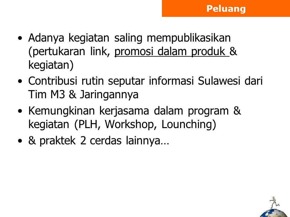 Contribusi rutin seputar informasi Sulawesi dari Tim M3 & Jaringannya