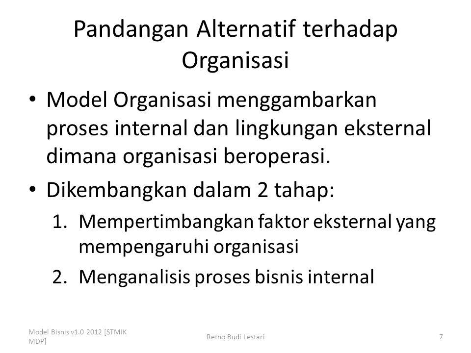Pandangan Alternatif terhadap Organisasi