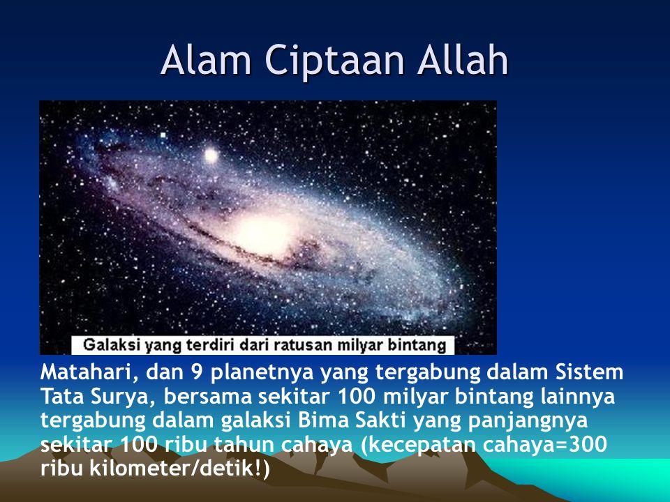 Alam Ciptaan Allah