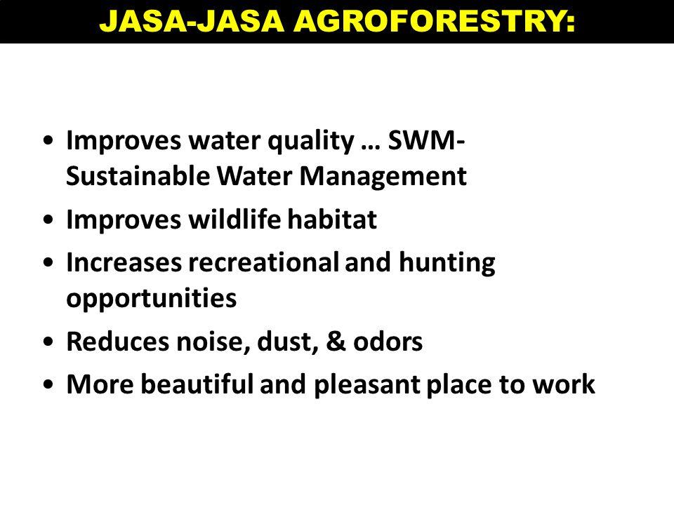 JASA-JASA AGROFORESTRY: