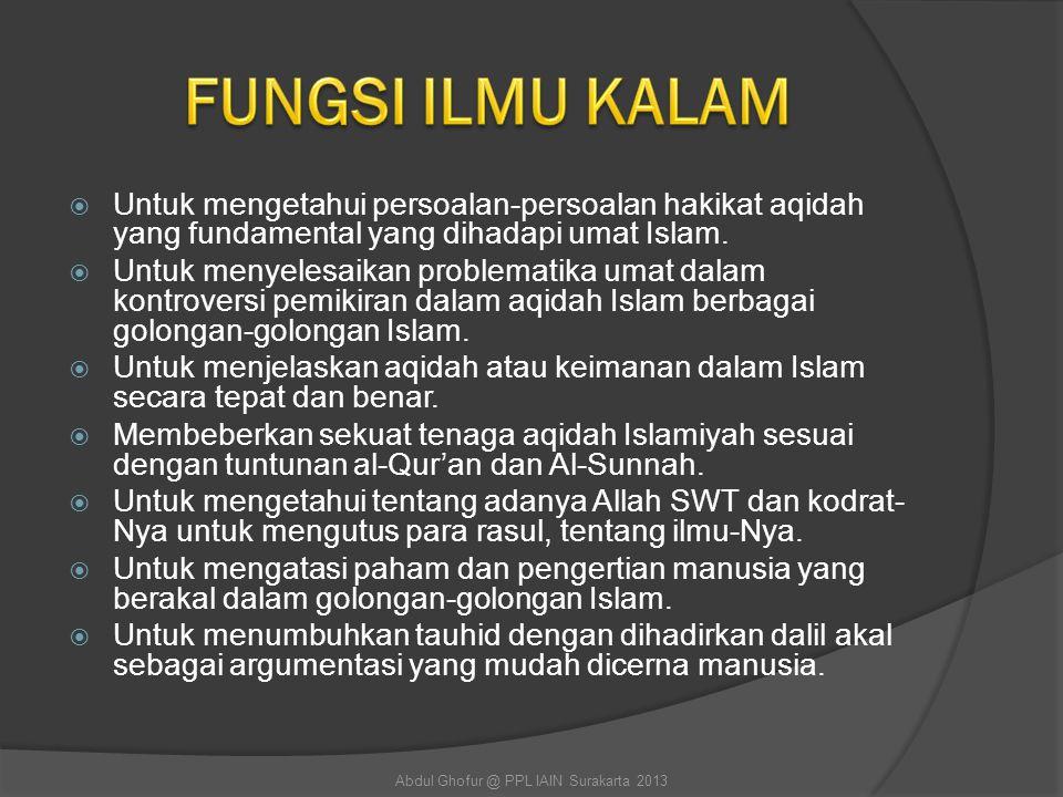 Abdul Ghofur @ PPL IAIN Surakarta 2013