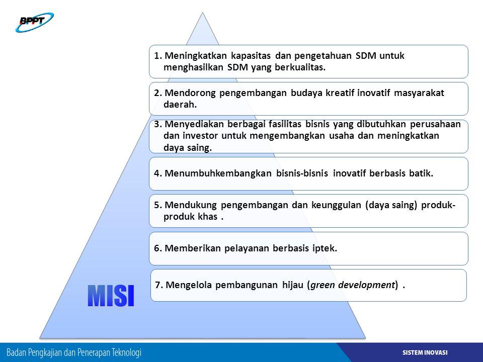 1. Meningkatkan kapasitas dan pengetahuan SDM untuk menghasilkan SDM yang berkualitas.