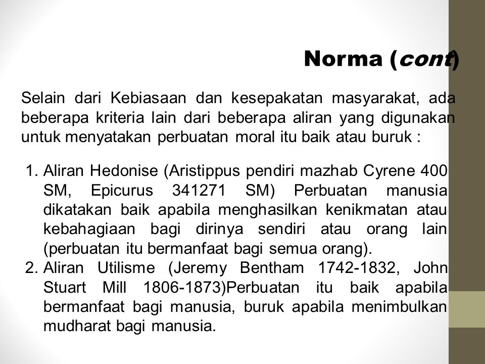 Norma (cont)