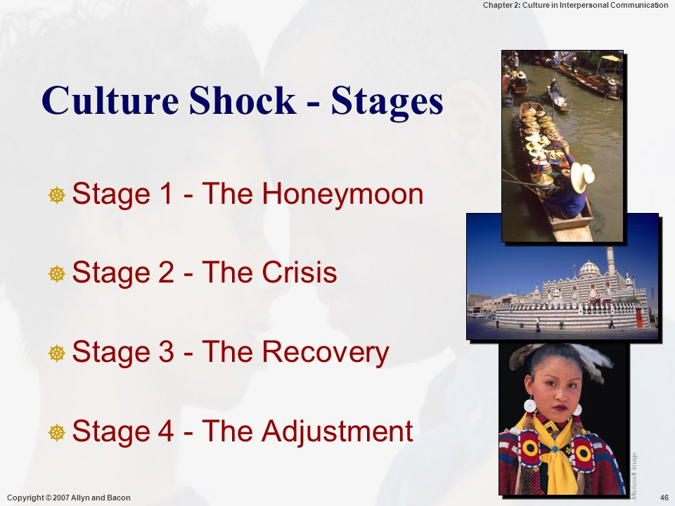 Culture Shock - Stages Stage 1 - The Honeymoon Stage 2 - The Crisis