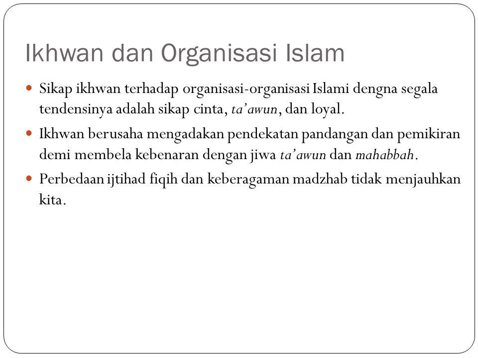 Ikhwan dan Organisasi Islam
