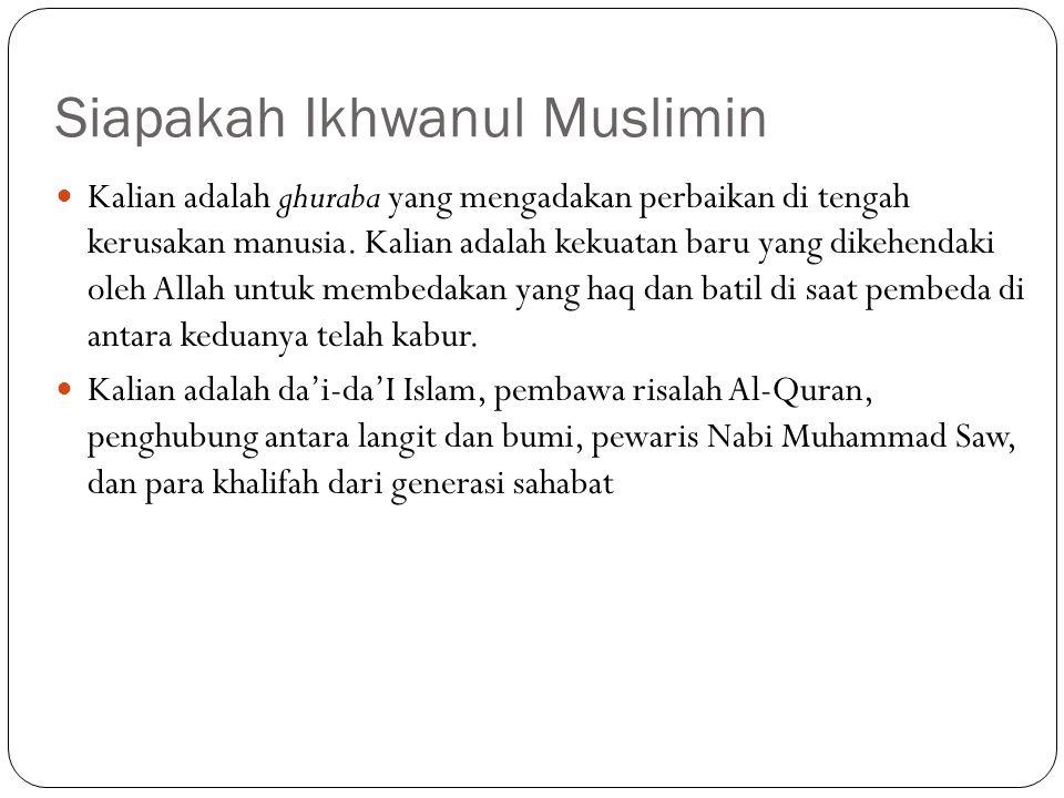 Siapakah Ikhwanul Muslimin
