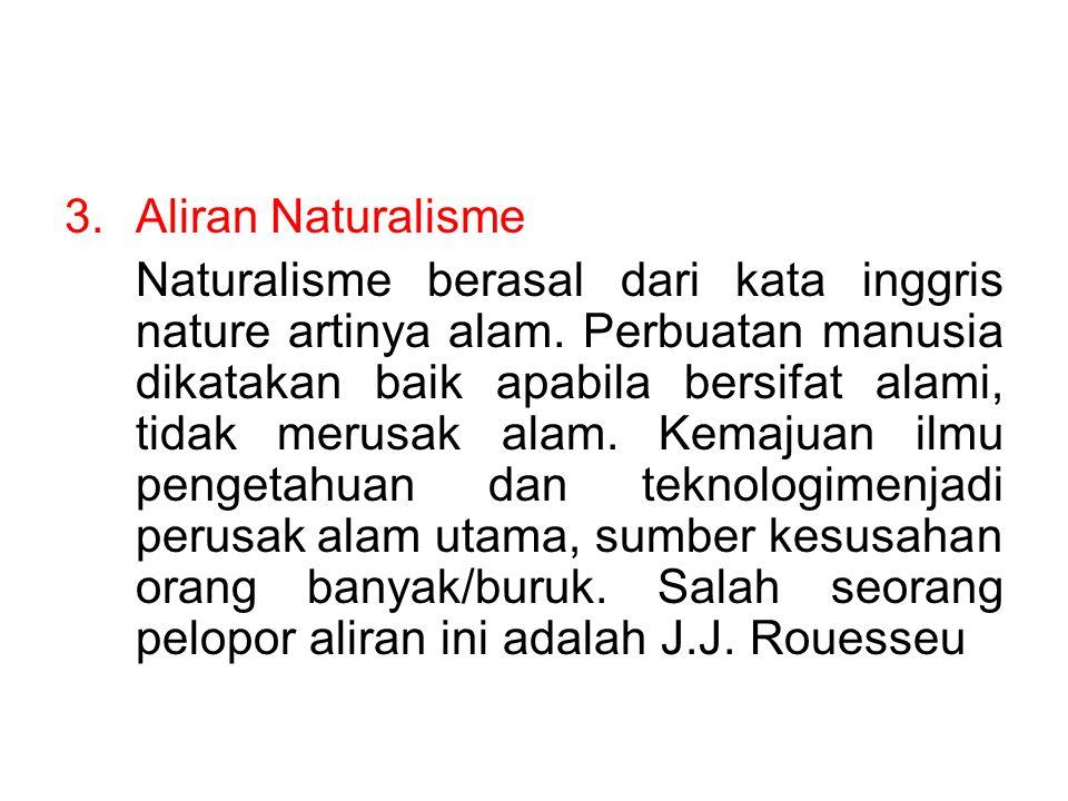 Aliran Naturalisme