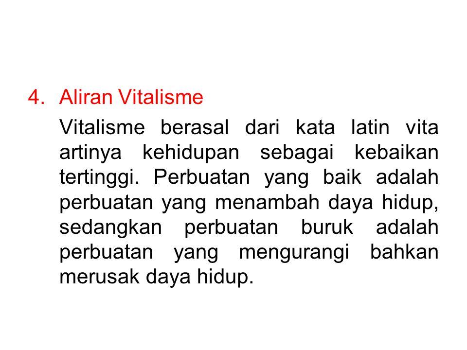 Aliran Vitalisme