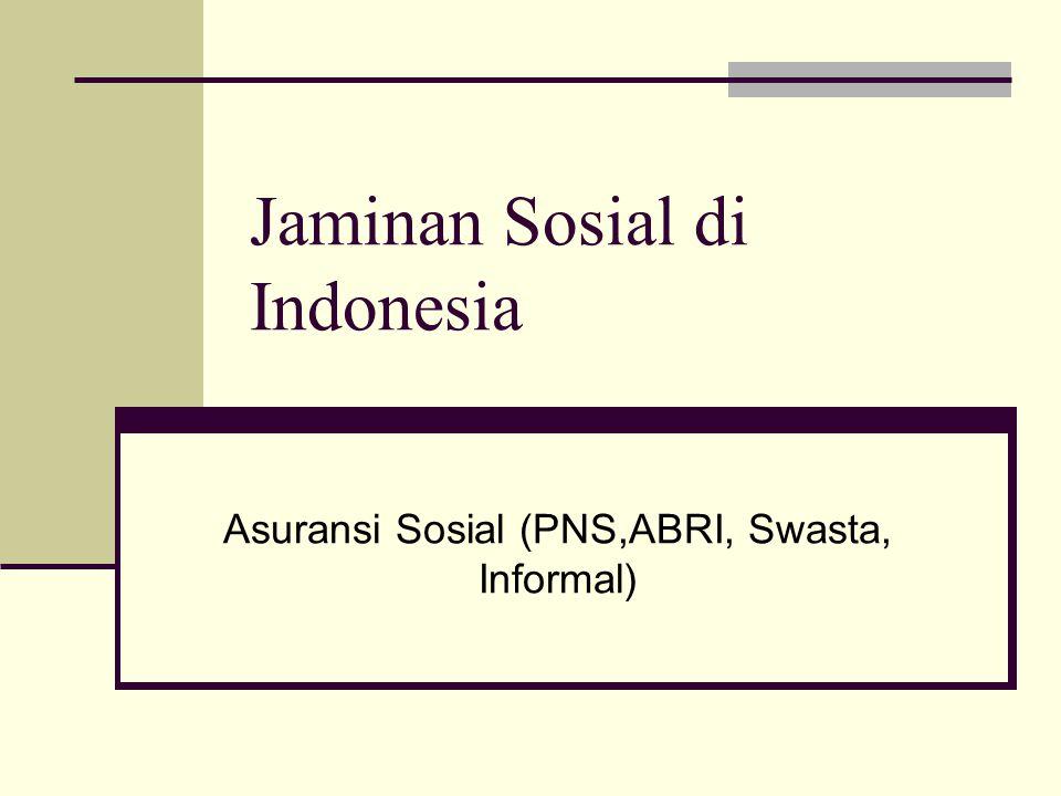 Jaminan Sosial di Indonesia