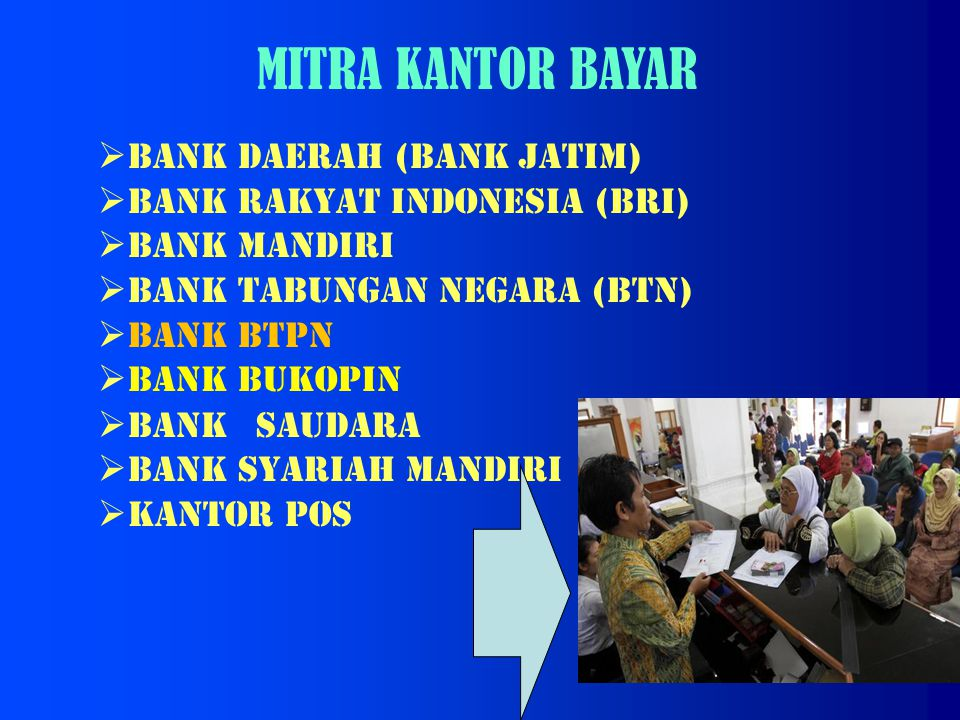 MITRA KANTOR BAYAR BANK DAERAH (BANK JATIM)