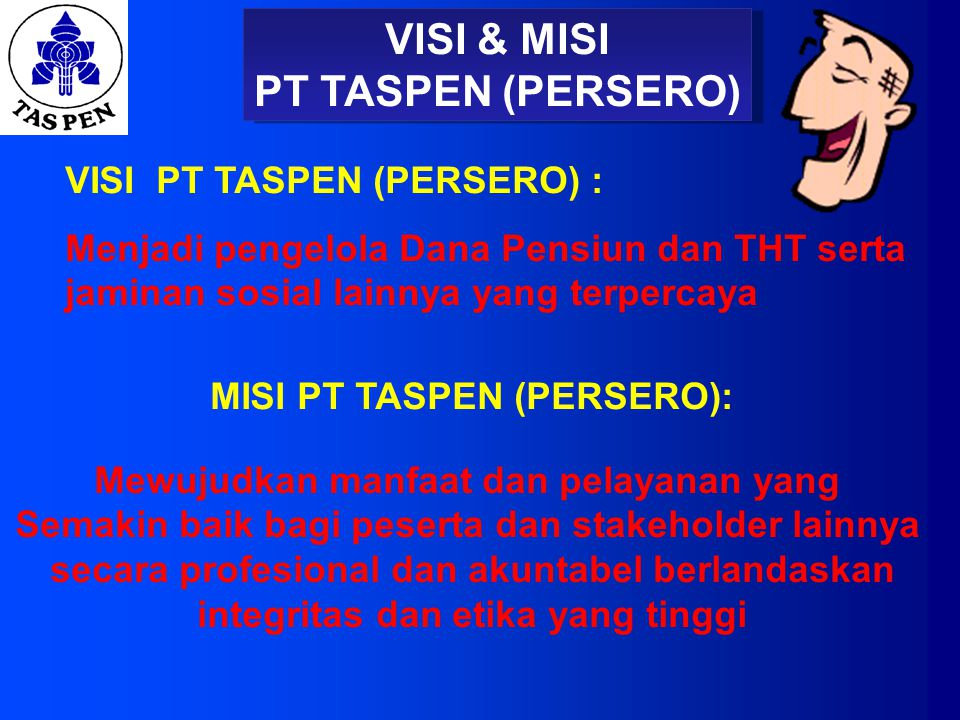 VISI & MISI PT TASPEN (PERSERO)