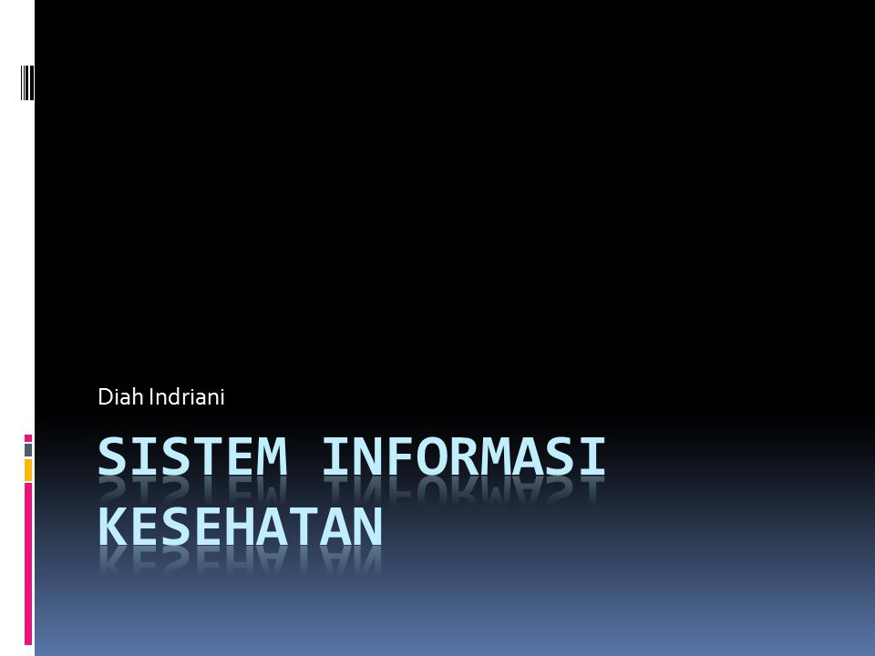 Sistem Informasi Kesehatan