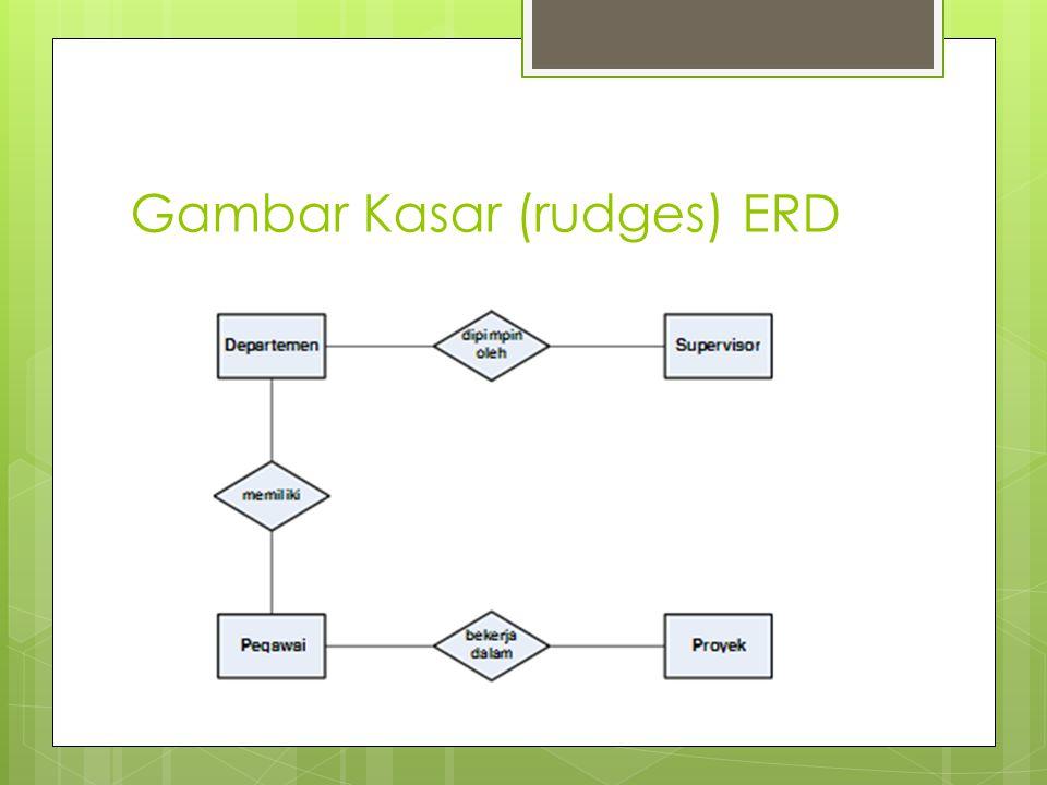 Gambar Kasar (rudges) ERD
