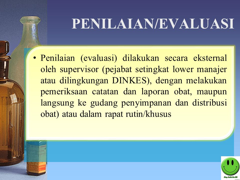 PENILAIAN/EVALUASI