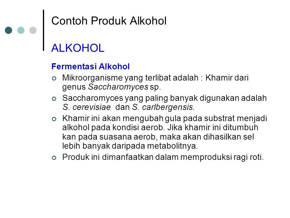 Contoh Produk Alkohol ALKOHOL