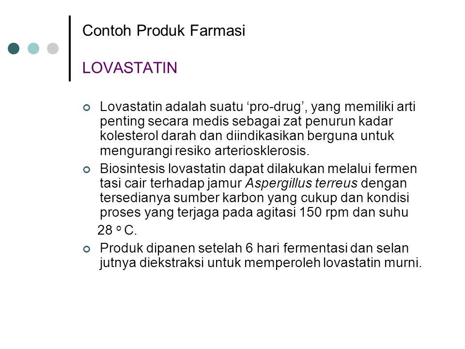 Contoh Produk Farmasi LOVASTATIN