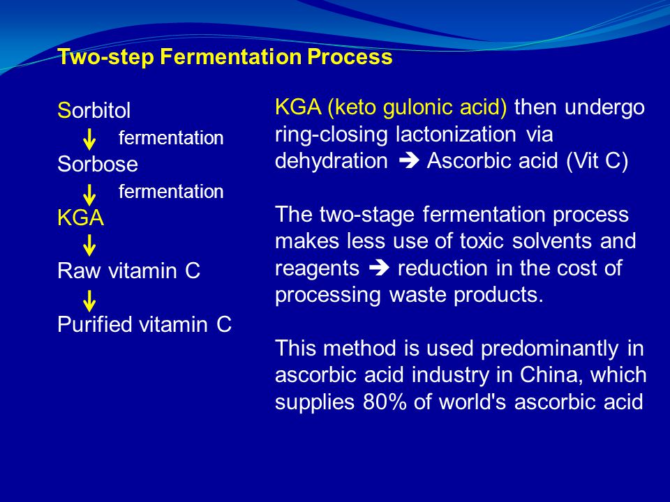 Two-step Fermentation Process