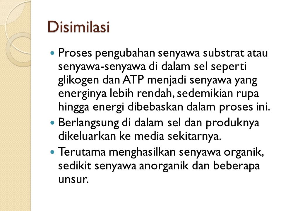 Disimilasi