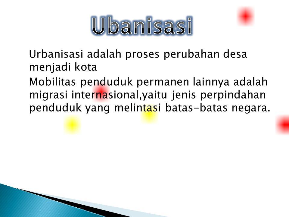 Ubanisasi