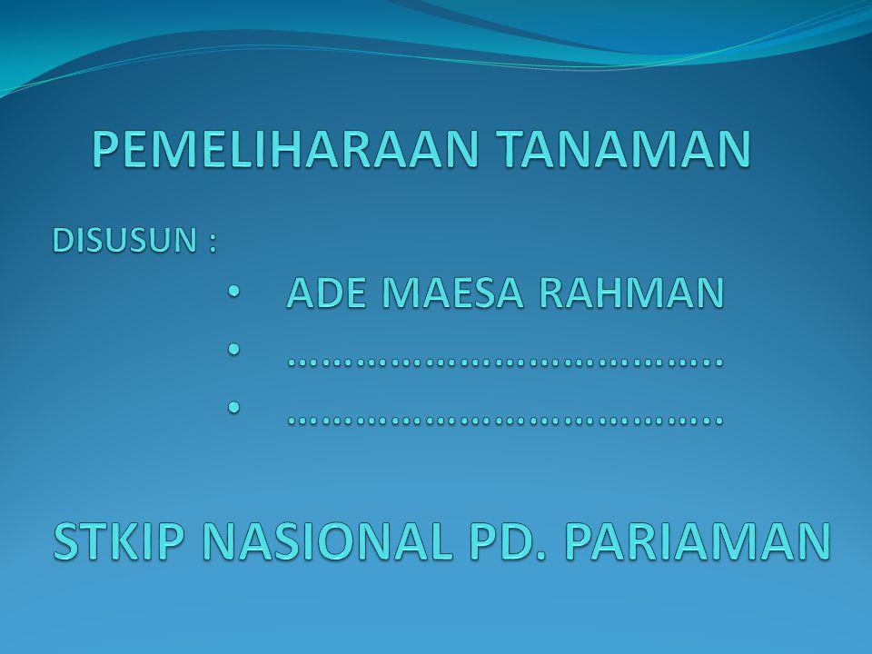 STKIP NASIONAL PD. PARIAMAN