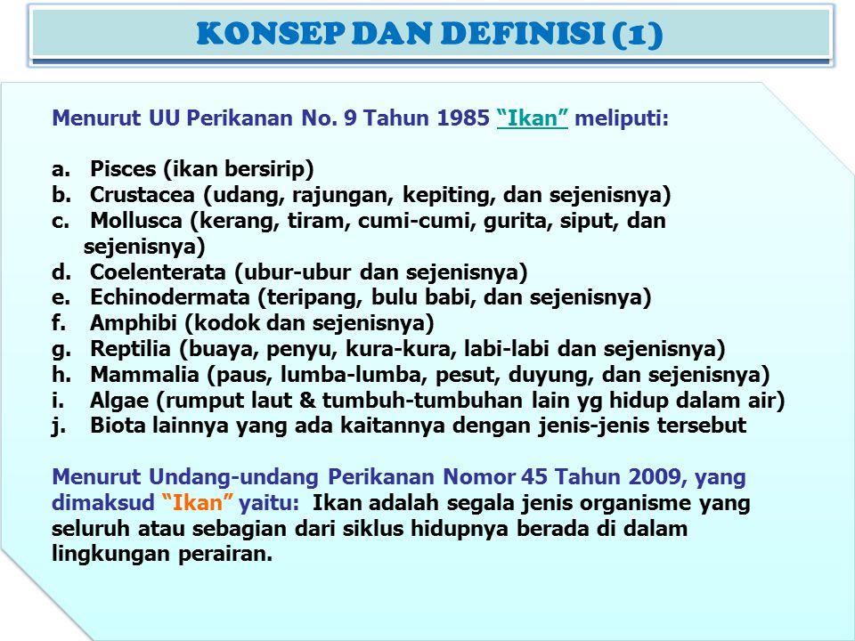 KONSEP DAN DEFINISI (1) KONSEP DAN DEFINISI (2)
