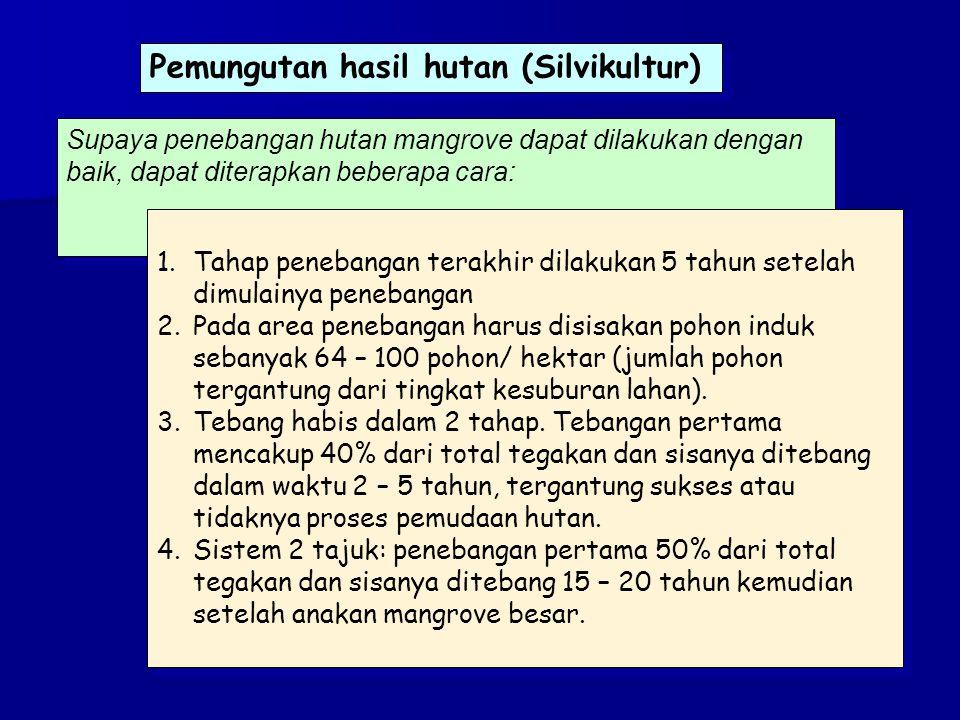 Pemungutan hasil hutan (Silvikultur)