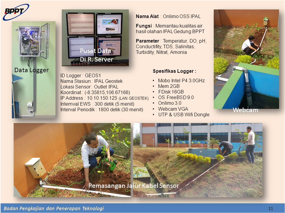 Pemasangan Jalur Kabel Sensor