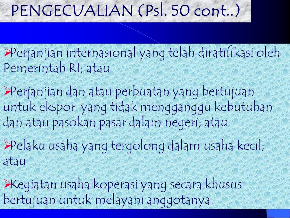 PENGECUALIAN (Psl. 50 cont..)