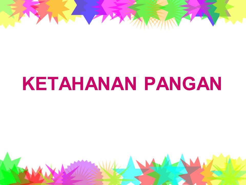 KETAHANAN PANGAN