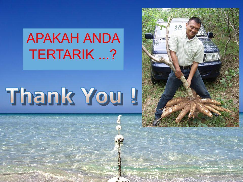 APAKAH ANDA TERTARIK ... Thank You !