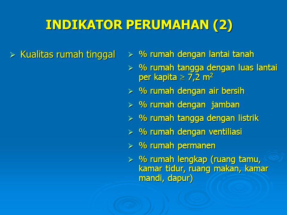 INDIKATOR PERUMAHAN (2)