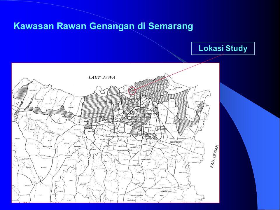 Kawasan Rawan Genangan di Semarang