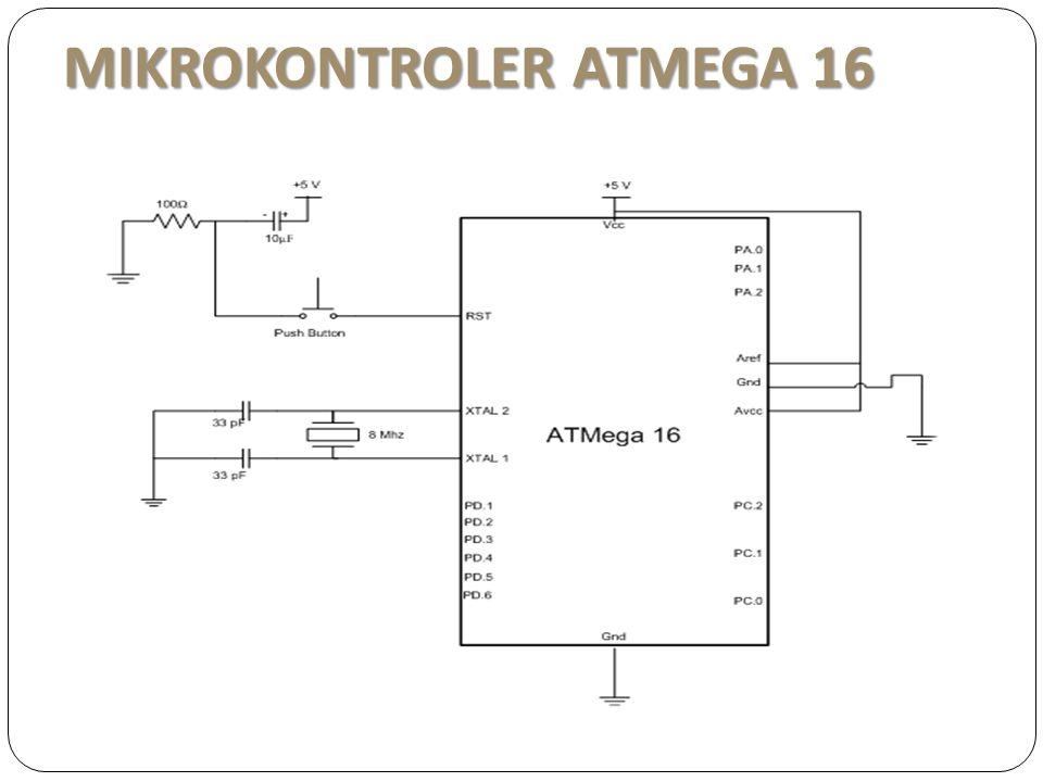 MIKROKONTROLER ATMEGA 16