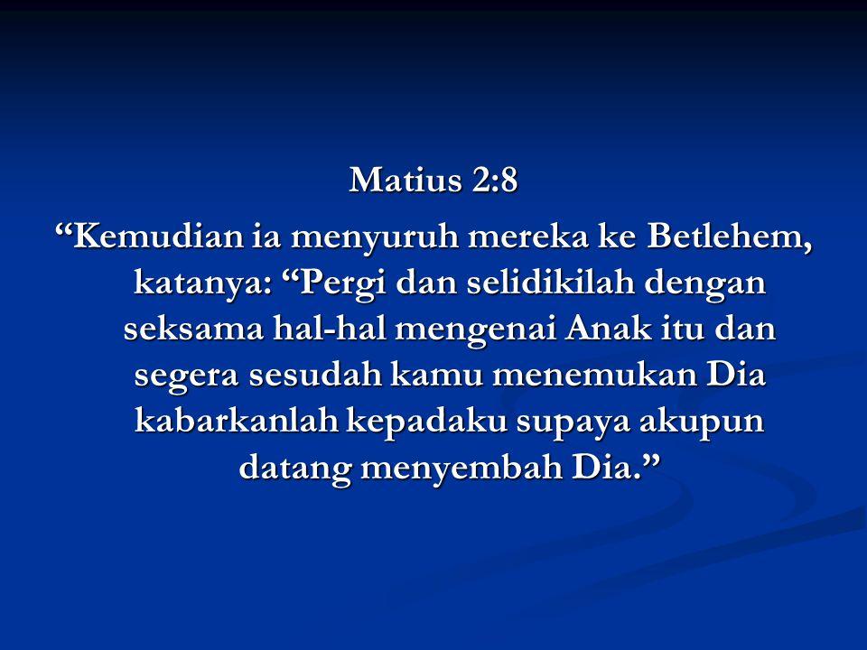 Matius 2:8