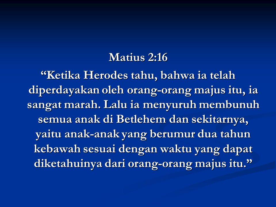 Matius 2:16