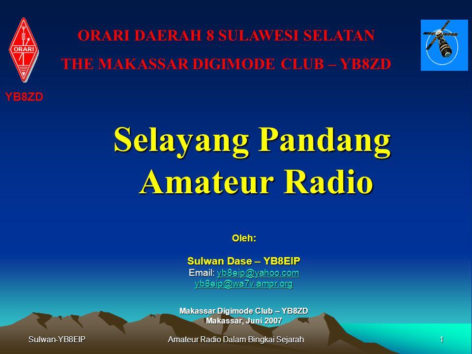 Selayang Pandang Amateur Radio