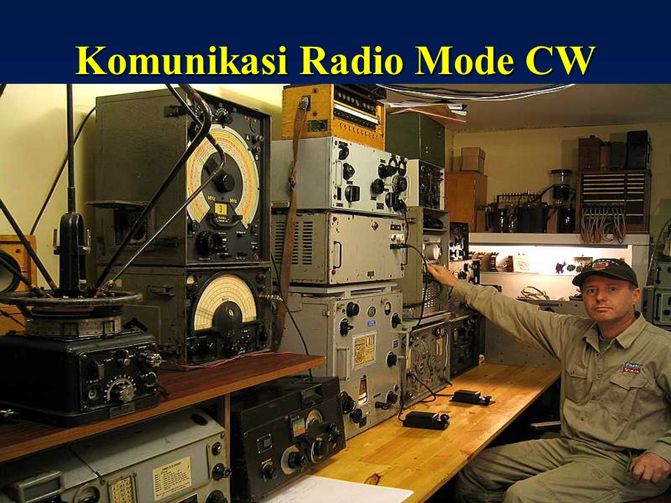 Komunikasi Radio Mode CW