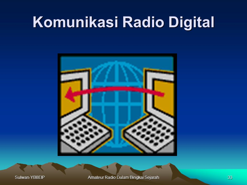 Komunikasi Radio Digital